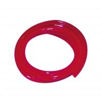 Fluorslang -rot 4mm (1m.)
