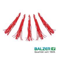 Balzer Octopussy Japans Rood 12cm 5 st