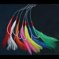 Mackerel Feathers Coloured 7x 3/0