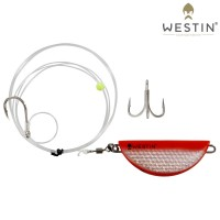 Westin Halibut Anti Twist Rig 350g Orange 190cm
