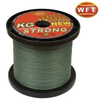 WFT KG Strong Green 0,08mm 10kg (1 meter)