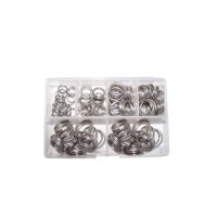 Xtra Strong splitring box 6,8,10,12,14,16 mm (120 st.)
