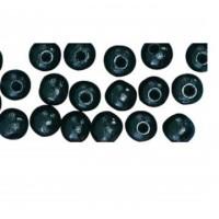 Balzer  Zwart Soft Kraal 8mm (10 st.)